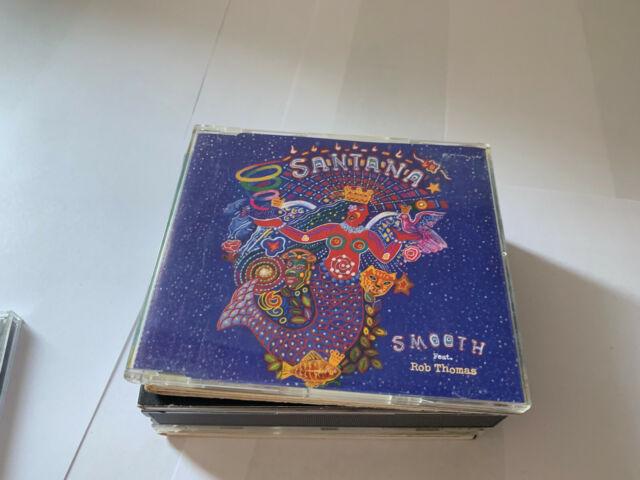 Santana & Rob Thomas Smooth Inc Instrumental CD Single 3 Tracks