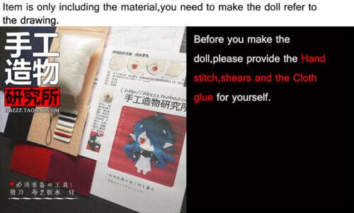 Anime Noragami Yatao DIY Handmade Toy Bag Hanging Plush Doll Kawaii Gift#9-175