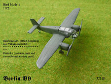 Akaflieg Berlin B 9     1/72 Bird Models Resinbausatz / resin kit