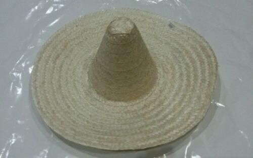 Beige colour Mexican Straw Hat//costume// party