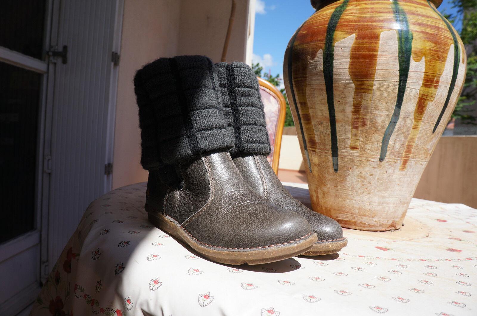 Zapatos especiales con descuento Art I Dance 952, Boots mujer - Bleu (Brunito), 37 EU  -7 -5