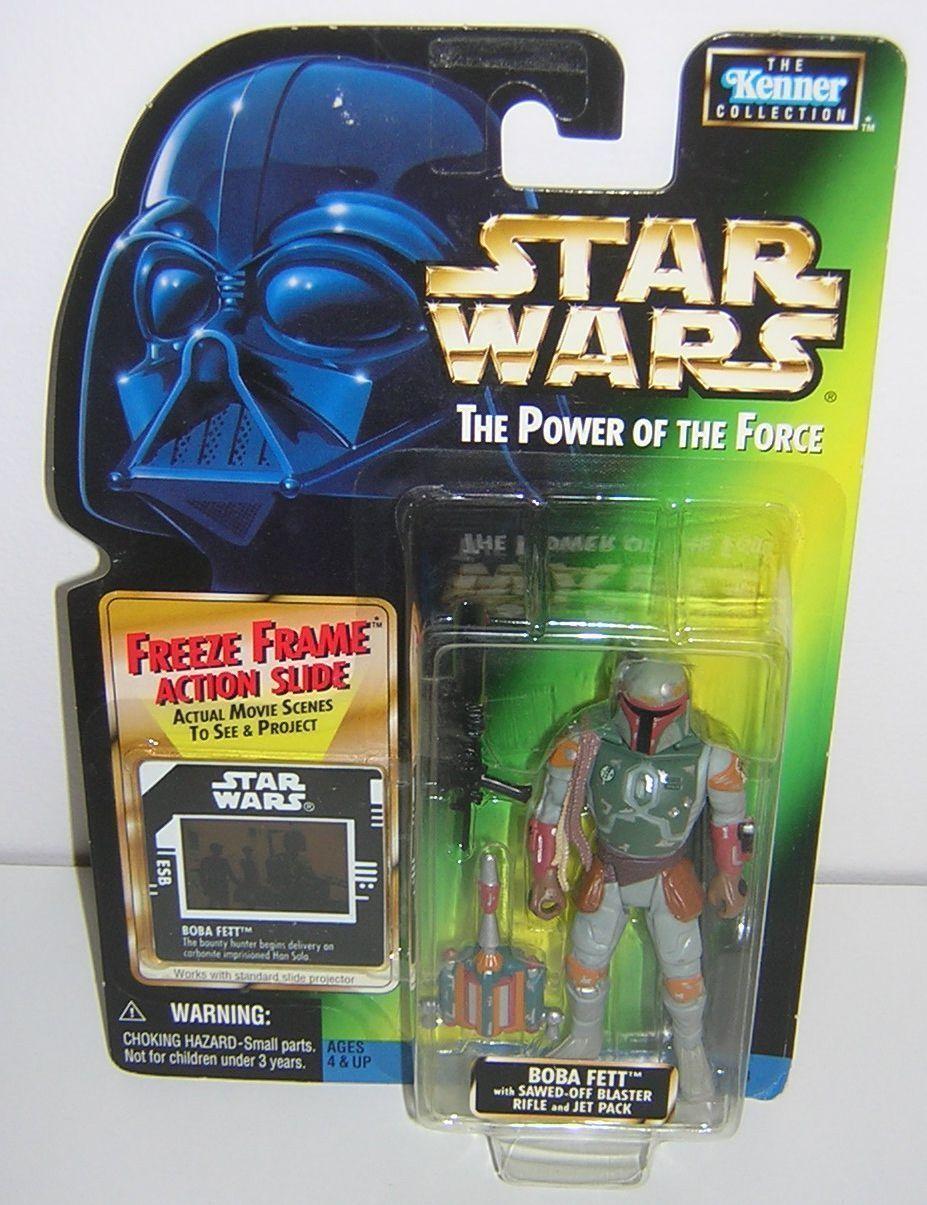 Star Wars POTF2 Freeze Frame FF Boba Fett