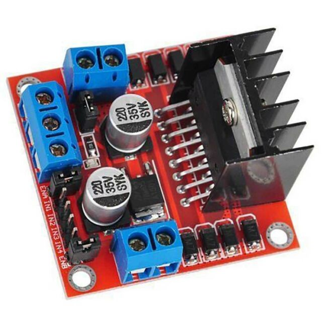 L298N Dual H Bridge DC Stepper Motor//Drive Controller BoardModule for arduin.