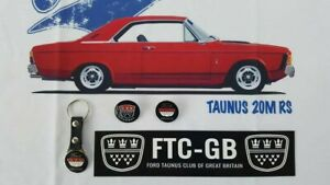 Ford-Taunus-Badges-and-Keyring