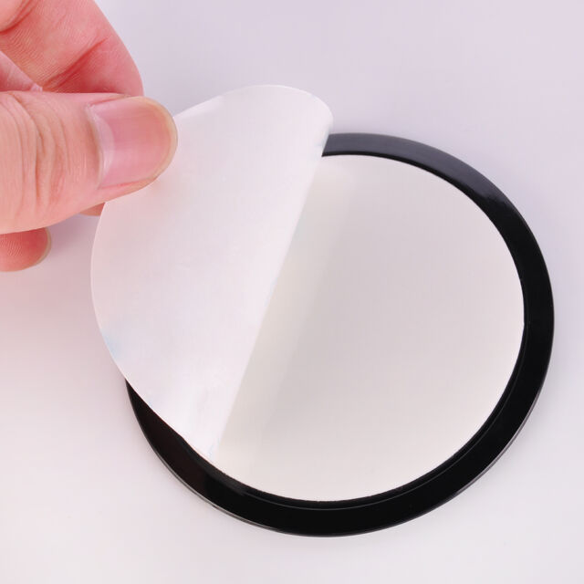 Black Car Dash Dashboard Adhesive Sticky Suction Cup Mount Disc Disk Pad 80mm