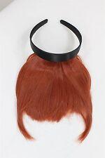 Clip-in Pony inkl. Haarreif mit langem Seitenhaar, Rot HA071T-350