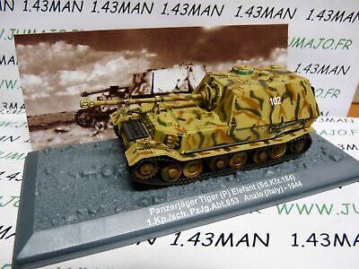 PZ14 Tank militaire 1//72 PANZER n°14 Kpfw VI Tiger II SdKfz182 Porsche France 44