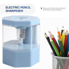 Auto Electric Pencil Sharpener Usb Rechargeable Battery School Office Fit 6 8mm