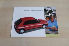 85919) Peugeot 306 XR XRD XRDT Prospekt 12/1993