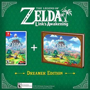 Details About The Legend Of Zelda Link S Awakening Dreamer Edition For Nintendo Switch New