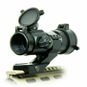 Tactical-Reflex-Stinger-4-MOA-Red-Green-Dot-Sight-Scope-with-PEPR-Rail-Mount