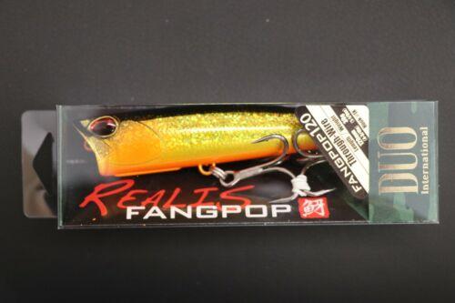 DUO Realis FangPop 120 Astro Kurokin 120mm Topwater Popper Fang Ops Fang Pop