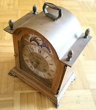 Franz Hermle Stockuhr Stutzuhr Kaminuhr Tischuhr Mondphasenuhr 130 - 020 Clock