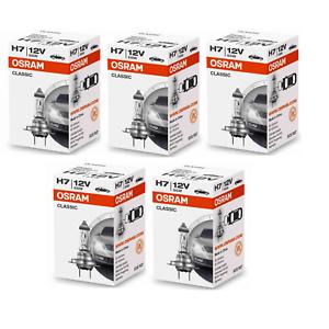 5x-Osram-H7-Classic-64210-CLC-Lampe-12V-55W-64210CLC-Autolampe-Gluehlampe-Birne