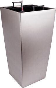 blumentopf pflanztopf mit bew sserungssystem madagaskar wasserstandanzeiger ebay. Black Bedroom Furniture Sets. Home Design Ideas