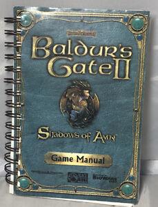 Baldur-039-s-Gate-II-Shadows-of-Amn-GAME-MANUAL-Only