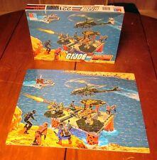 GI JOE mural jigsaw puzzle Battle #3 missing piece 1985 military toys