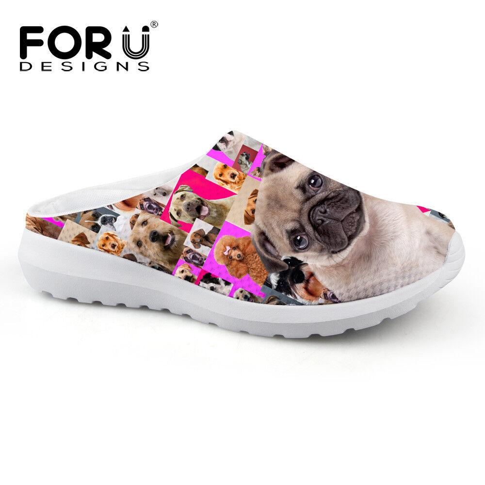 Pink Animal Women Mesh Breath Slippers Casual Flat Shoes Women Animal Girls Beach Sandals 48b0d5