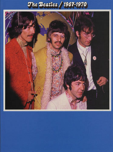 THE BEATLES 1967-1970 MUSIC AND LYRICS BOOK FOR GUITAR & VOCAL