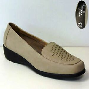 scarpe Wider Fit s Leather di Womens Due Footglove 5 Uk7 paia eur40 taglia M Wedge 1Fgavw