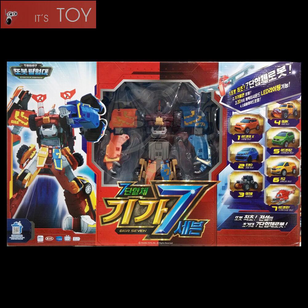 Tobot giga sieben 7 x y z d taekwon - do k terracle fracht transformator zahl junger spielzeug