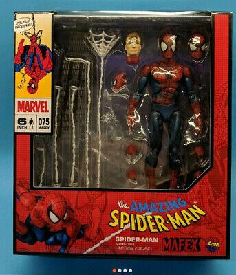 man Amazing Comic Version Action Figure Medicom Mafex #075 NIB
