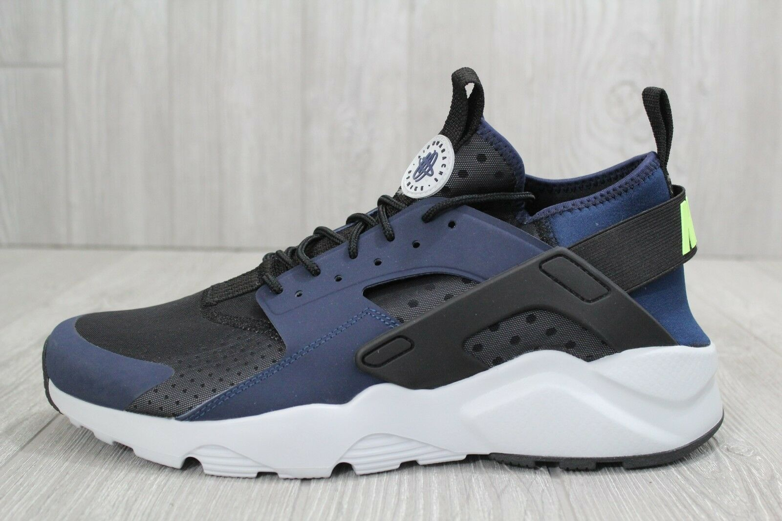 29 Nike Air Huarache Run Ultra Mid Running Shoes Navy Black Price reduction Great discount
