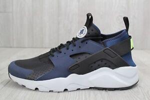 29 Nike Air Huarache Run Ultra Mid Running Shoes Navy Black SZ 11.5 ... 6725f55f27