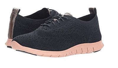 aadf740afe6fe NIB Cole Haan Women's Zerogrand Stitchlite Oxford Shoes W11782 in Blueberry  | eBay