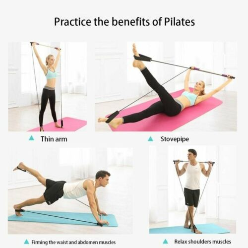 Fitness Resistance Bands Yoga Exercise Band Universal Gym Crossfit Body Stick