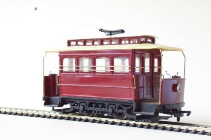 On30 7mm Brill Demi Tram Car with open ends - Smallbrook studio - free post