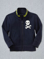 Gap Skull Patch Track Jacket Size 2t 3t 4t 5t