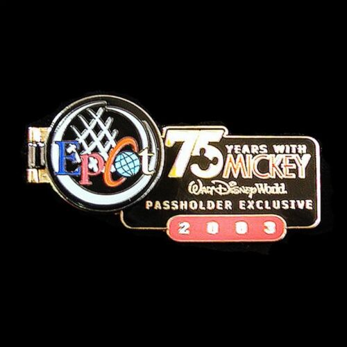 2003 EPCOT '75 Years with Mickey' Disney Pin LE 7500