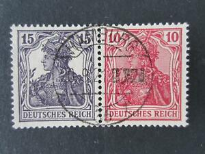 Germany-Michel-W13-used-booklet-setenat-strips-catalog-E250-1342