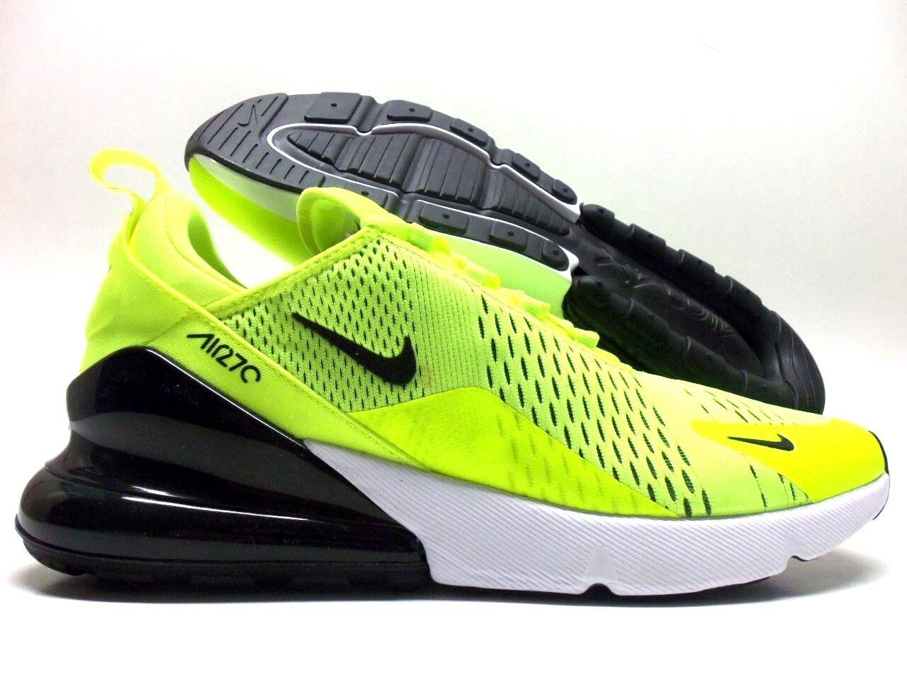 Nike air max volt 270 volt max / nero-dark grey-white dimensioni uomini 9,5 ah8050-701] 55a4f3