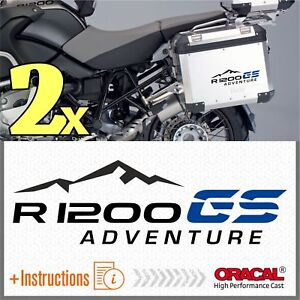2x-BMW-R1200GS-ADVENTURE-Black-Blue-PEGATINA-R1200-GS-ADESIVI-AUTOCOLLANT-R-1200