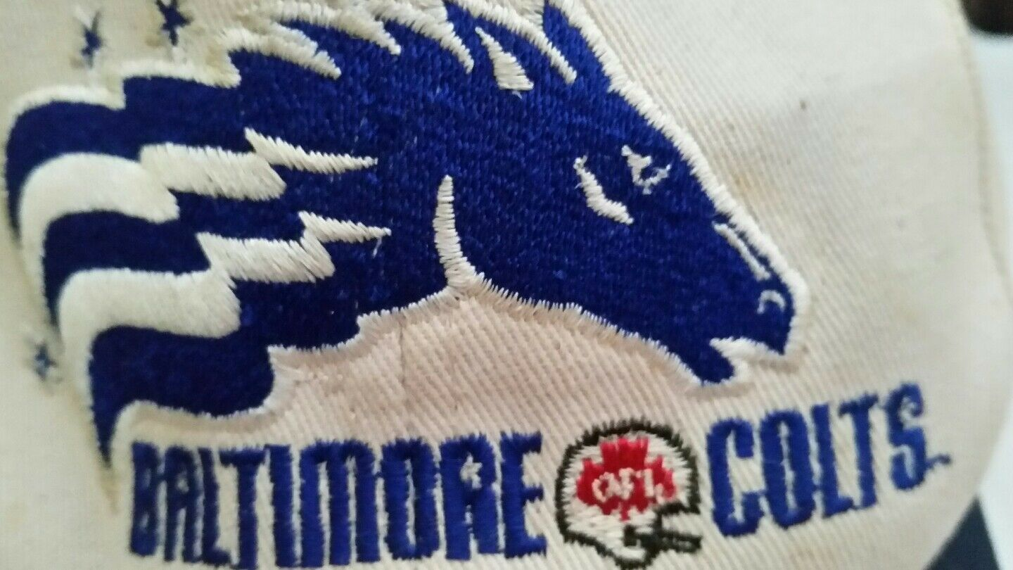 Colts Vintage Baseball Hat Indianapolis Cap Indianapolis Hat Baltimore Sports Football Collector 0c133f