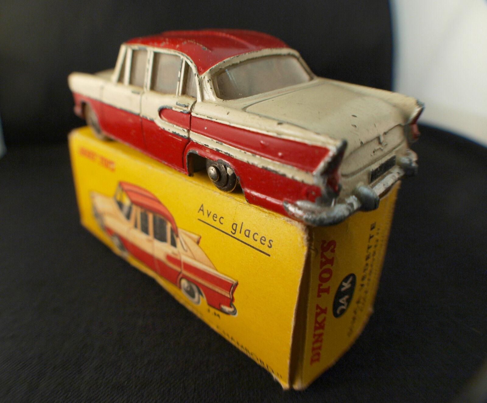 Un fou de de de Noël remporte une grande concurrence Dinky Toys F 24 K Simca vedette Chambord en boîte | La Reine De La Qualité  5f70ec