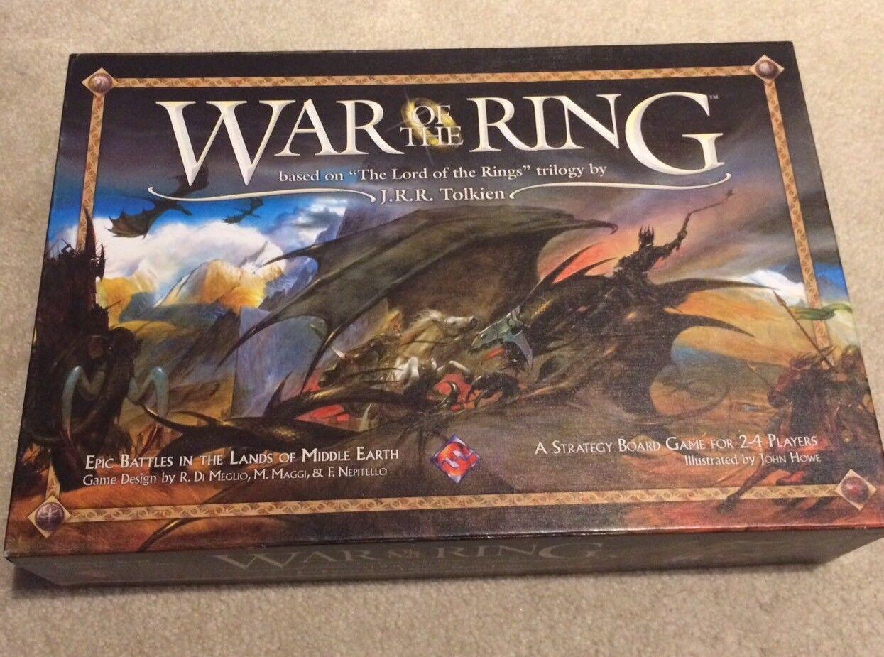War of the Ring primero 1st edizione tavola gioco  - fantasycc volo giocos 2004 LOTR  solo per te