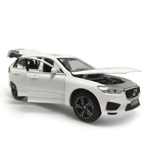 XC60-2019-Off-road-SUV-1-32-Scale-Model-Car-Diecast-Gift-Toy-Vehicle-Kids-White