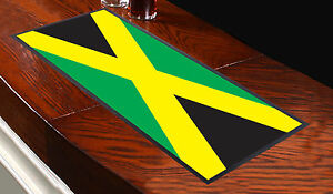 BANDERA-JAMAICANA-Toalla-de-Bar-Ideal-Para-El-Hogar-Cocktail-Fiestas-Pub-Tapete