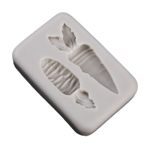 Kitchen Baking Icing Sugarcraft Mould Carrot Silicone Mould Fondant Mold FI