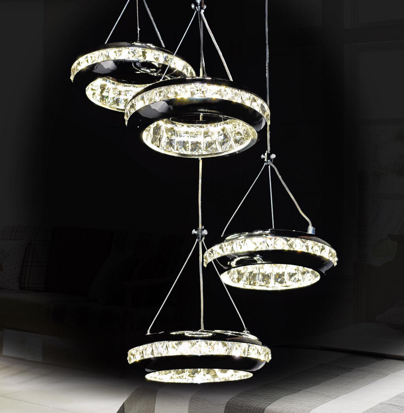 DEL DEL DEL Lustre Plafonnier Lampe Verre Cristal Froid Chaud Lumière de Lustres Plafond | Service Supremacy  eaae77