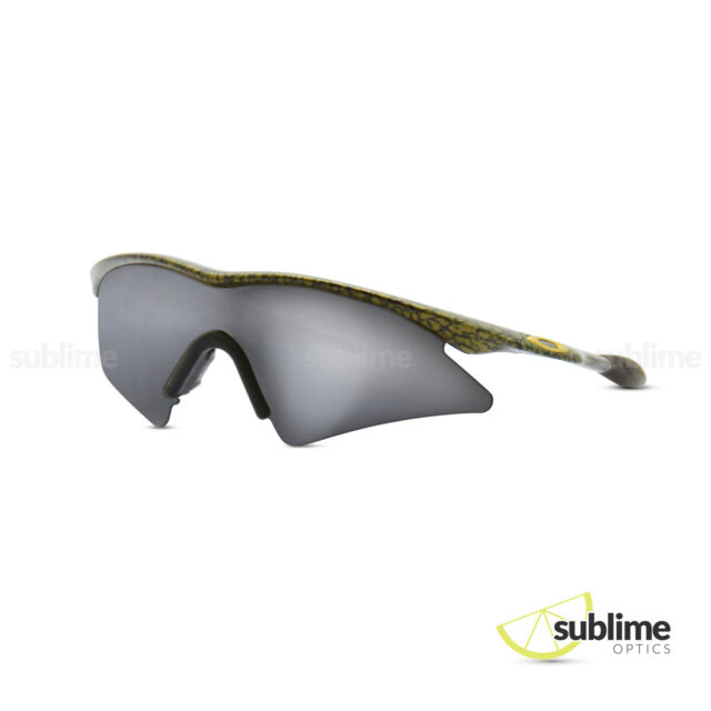 Black Iridium Polarized Replacement Lenses for Oakley M Frame Sweep