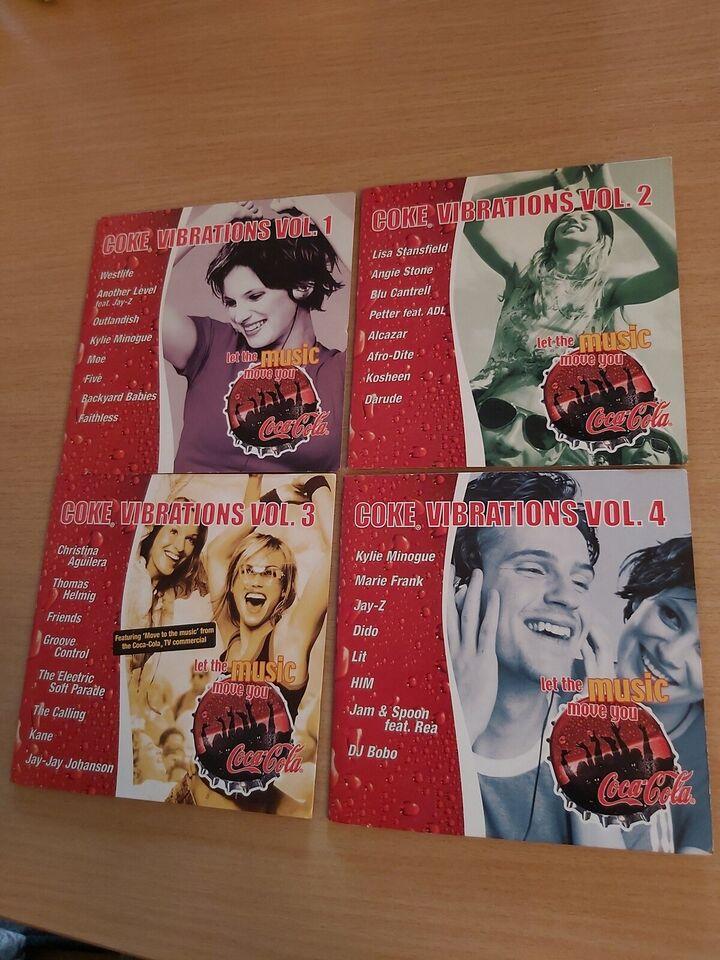 Coca cola music 4 cd'er: Coca cola music, andet