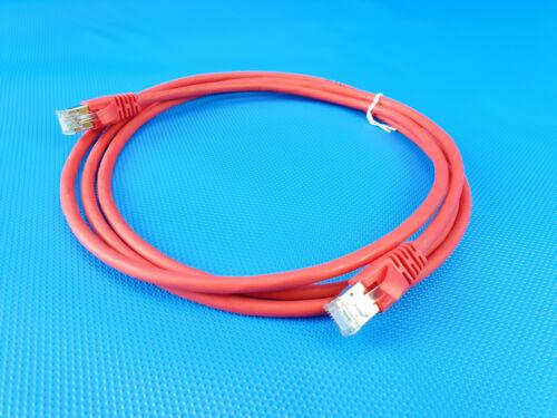 3M Volition Cat 6A Patchcord RJ45 LAN Ethernet Netzwerkkabel SFTP LSOH 2m Rot