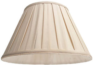 Image Is Loading Antique White Hand Made Round Box Pleat Lamp
