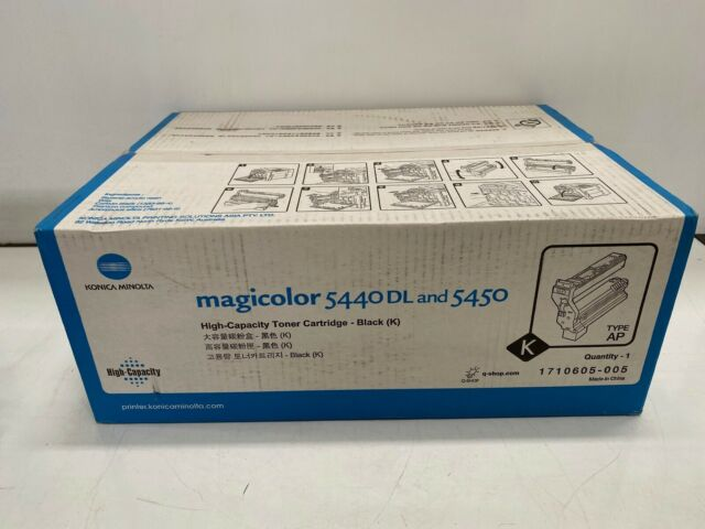 Konica Minolta Magicolor 1710605-005 Toner Cartridge Black SHOP.INSPIRE.CHANGE