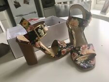 088886b020f item 3 Navy Floral Block Heel Sandals - Head Over Heels - Size 5 NEW IN BOX  -Navy Floral Block Heel Sandals - Head Over Heels - Size 5 NEW IN BOX