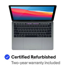 """2018 Apple MacBook Pro Touch Bar 13"""" Gray   2.3GHz Quad i5 8GB 256GB Certified"""
